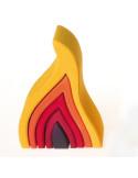 Stapel element vuur