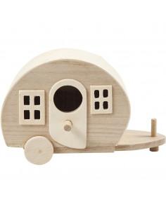 Mini caravan hout