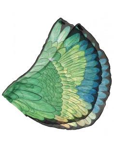Papegaai vleugels groen