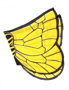 Vlinder vleugels geel