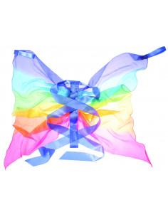 Sarah's silks regenboog vleugels