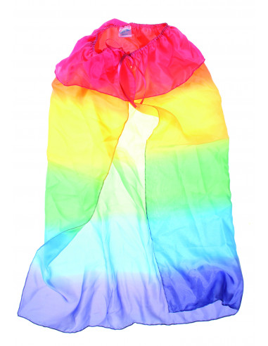 Sarah's silks regenboog cape