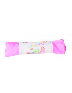 Sarah's silks speeldoek roze