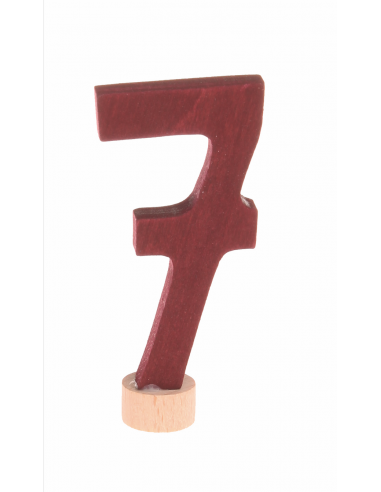 Cijfer 7 verjaardagsring