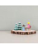 Miniatuur bankje