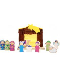 Speel kerststal