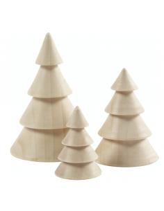 Knutsel kerstboompjes groot