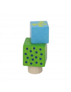 Cadeautjes steker blauw/groen