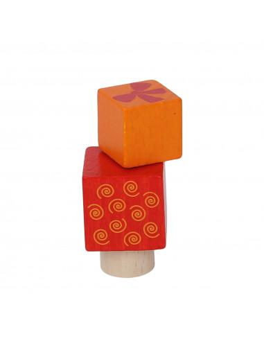 Cadeautjes steker oranje/rood