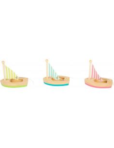 Zeilbootjes pastel
