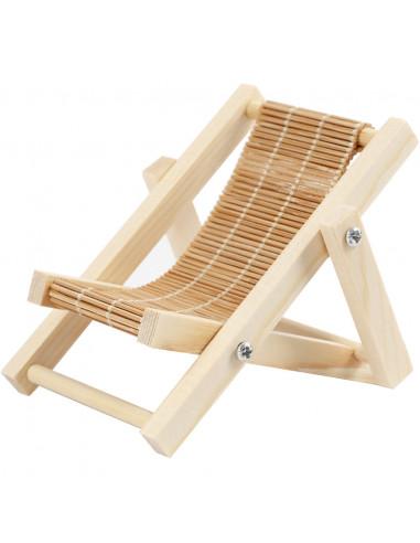 Miniatuur strandstoel