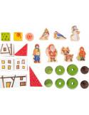 Houten speelgoed adventskalender
