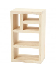 Poppenhuis boekenkast voor knustelen