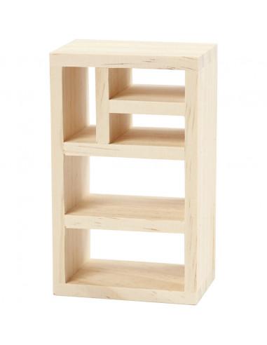 Knutsel poppenhuis boekenkast
