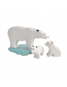 Ijsberen set Bumbu Toys