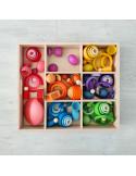 Regenboog eierdoppen